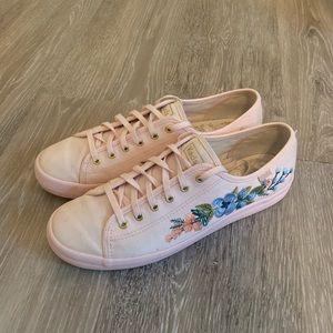 Keds x Rifle Paper Embroidered Herb Garden Shoe
